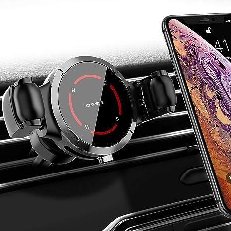 UVERTOOP Soporte M/óvil Coche con Ventosa Fuerte Soporte Tel/éfono Coche S9 y ect Salpicadero//Parabrisas Porta Movil Coche con 3 en 1 para iPhone 12 11 Pro Xs Max XR 8 7 6 Plus Galaxy S10