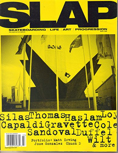 SLAP Magazine, March 2008 (Vol. 17, No. 3, Issue 190)