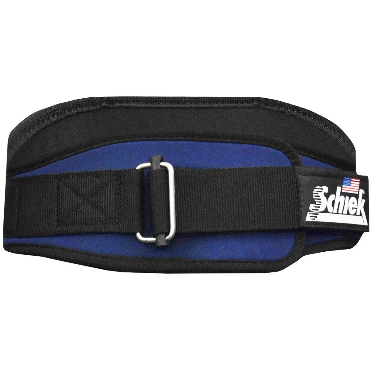 Schiek Sports Schiek Nylon Lifting Belt - 6 inch Size: Large Light Navy