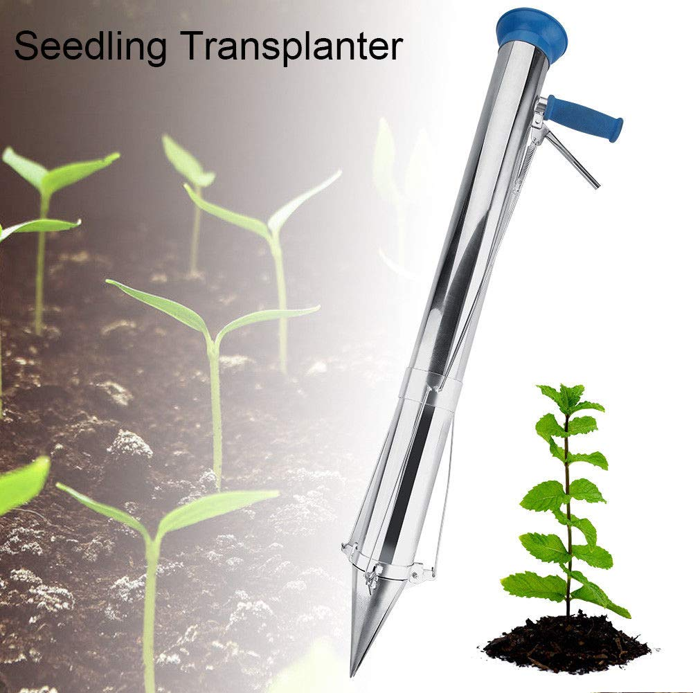 JPT Portable Hand-Held Young Plant Manual Seedling Transplanter Handhold Garden Tool