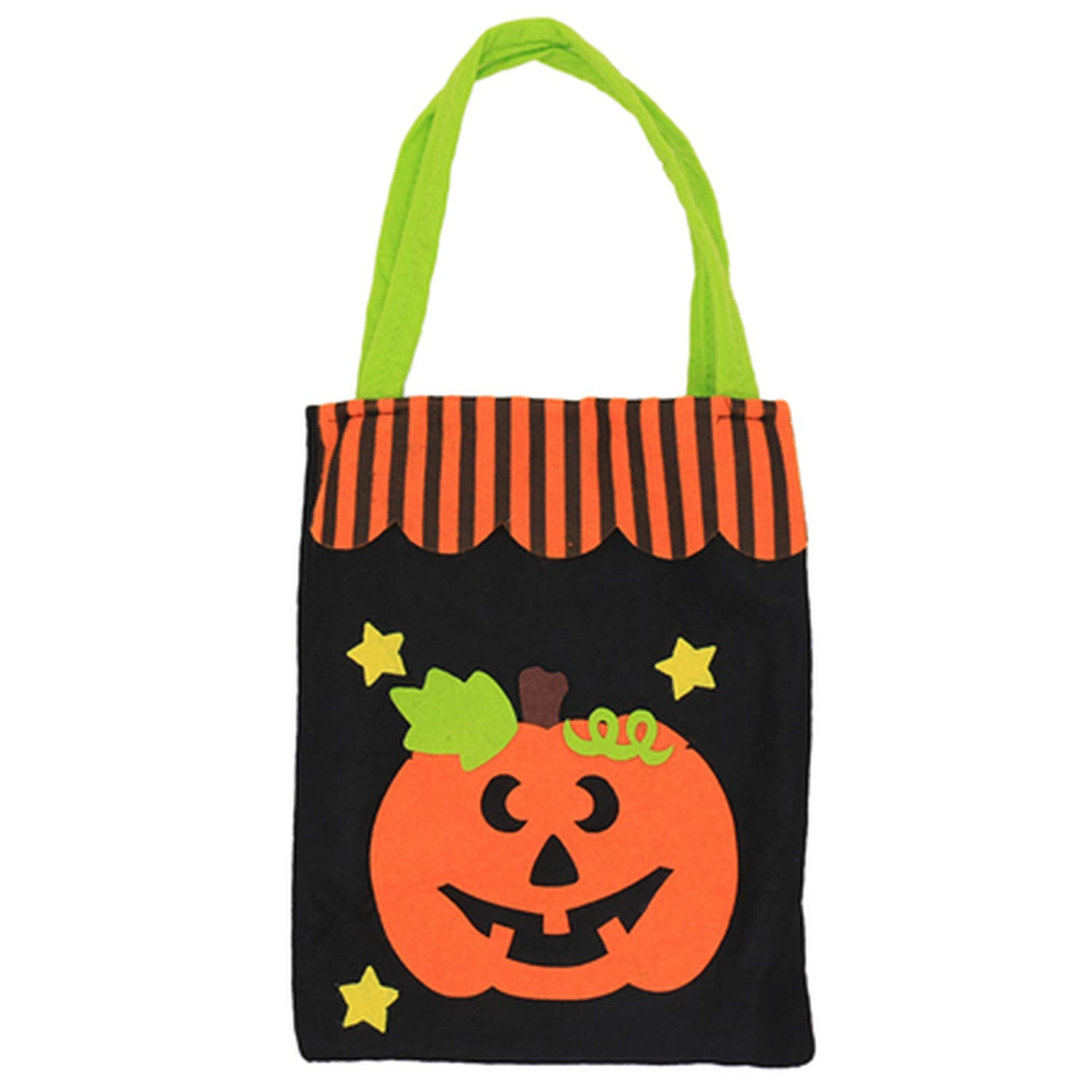 Halloween Candy Bag Gift Bags Pumpkin Trick Or Treat Bags Sacks Gift for Kids Event Party,D