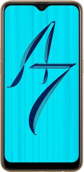 OPPO A7 (Glaring Gold, 4GB RAM, 64GB Storage) Without Offer: Amazon