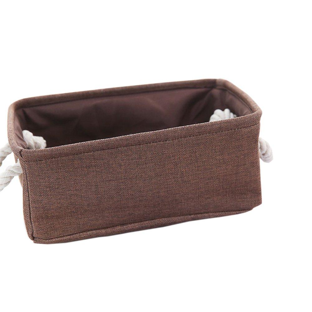 JUNGEN® Caja Organizadores de Simple Caja De Almacenamiento plegable con mango para Ropa Interior y Calcetines Lazos Divisor Organizador