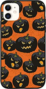 FancyCase Compatible with iPhone 11-New Halloween Style Soft Silicone Protective iPhone 11 Case (Jack O' Lanterns)