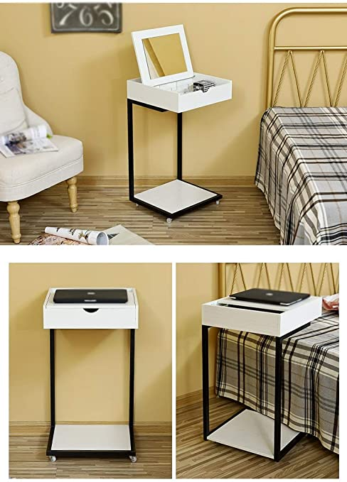 CJX Dressing Tables Table de Maquillage Mobile, Table Simple
