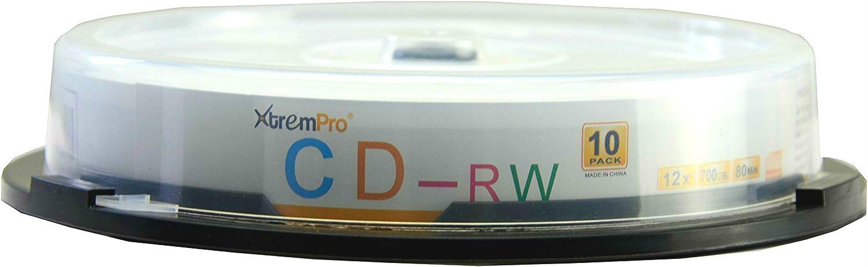 XTREMPRO 11041 12X 700MB CD-RW 10-CAKE HTII