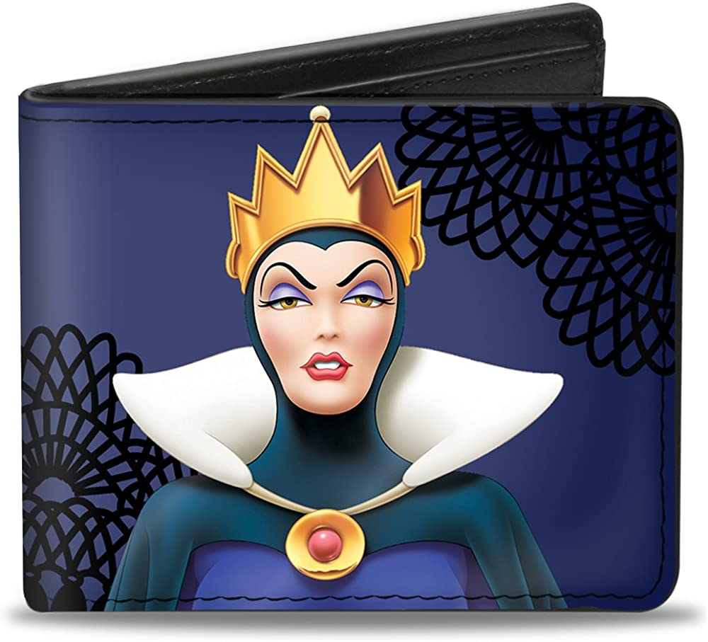 Standard Size Old Witch Poses Purples//Black Multicolor Buckle-Down Mens Snow Whites Evil Queen