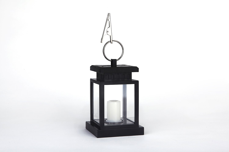 DISHUN Waterproof outdoor solar LED candle lamp European garden lamp