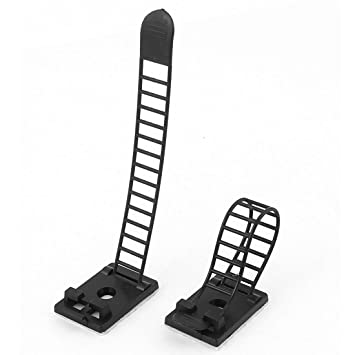 10 Stück selbstklebend Rück Kabel Clip Draht: Amazon.de: Elektronik
