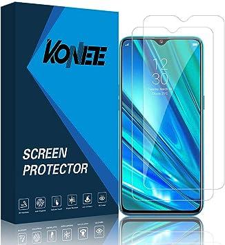 KONEE Protector de Pantalla para Realme 5 Pro, 【2 Piezas】 Ultra ...