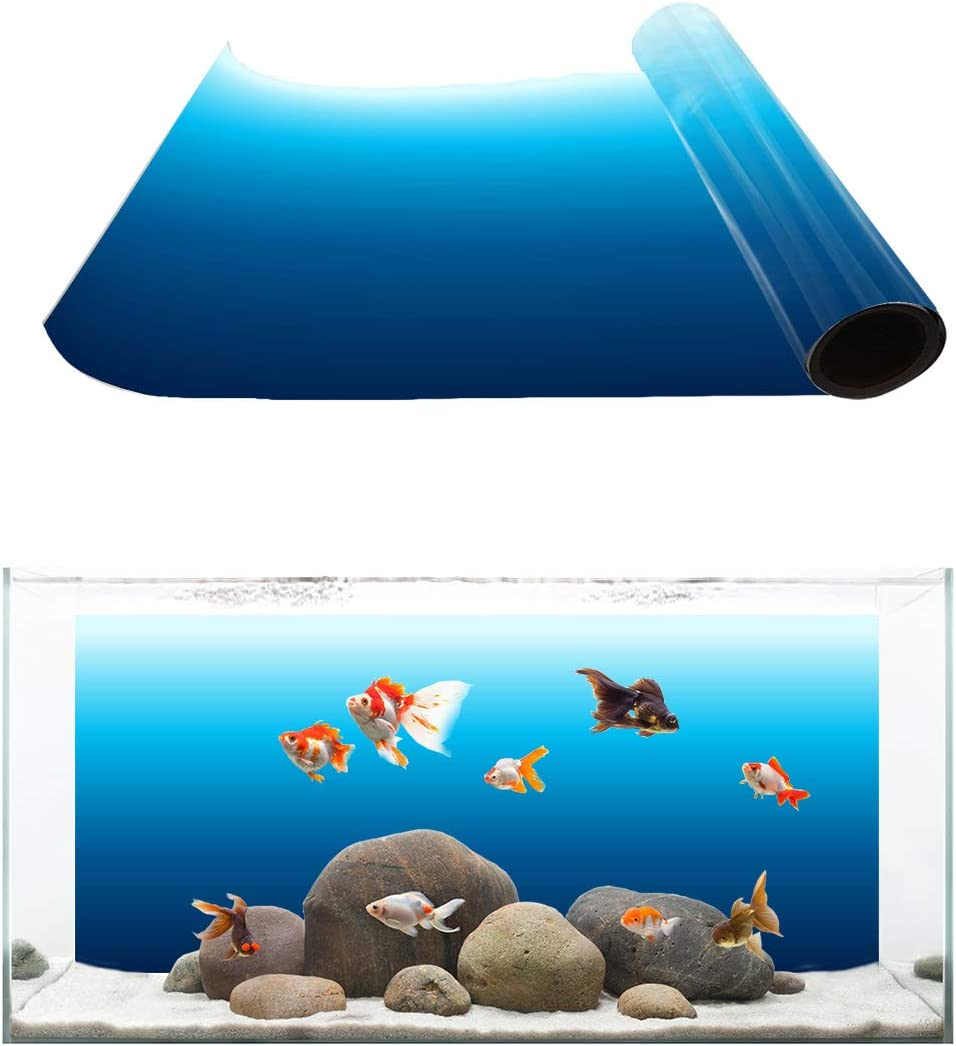 Libaoge Easter Bunny Rabbit Aquarium Background Double Sides Spring Festival for Frohe Ostern Fish Tank Decor Sticker Wallpaper Vinyl Photo Adhesive Paper Poster Backdrop,