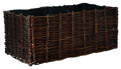 Verdemax 2258 60 x 60 x 20 cm Willow Planters