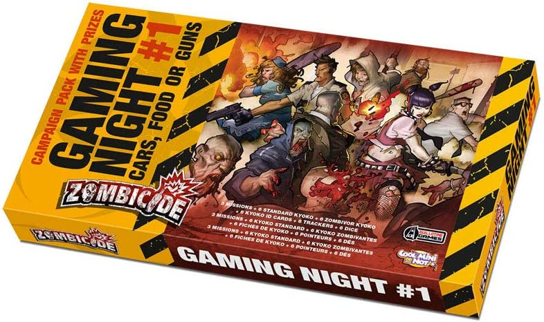 Zombicide: Gaming Night #1 Cars, Food or Guns by Cool Mini or Not: Amazon.es: Juguetes y juegos