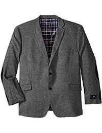 Men's Big-Tall Wool Donegal Sport Coat