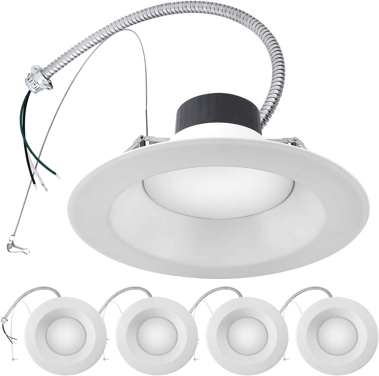 Amazon.com: ASD 8 Inch Commercial Downlight LED Recessed Lighting 12W 20W  30W Power Adjustable, CCT Adjustable 3000K 4000K 5000K 100-277V, LED  Ceiling Light - Intertek LED Light - ETL & Energy Star -Amazon.com