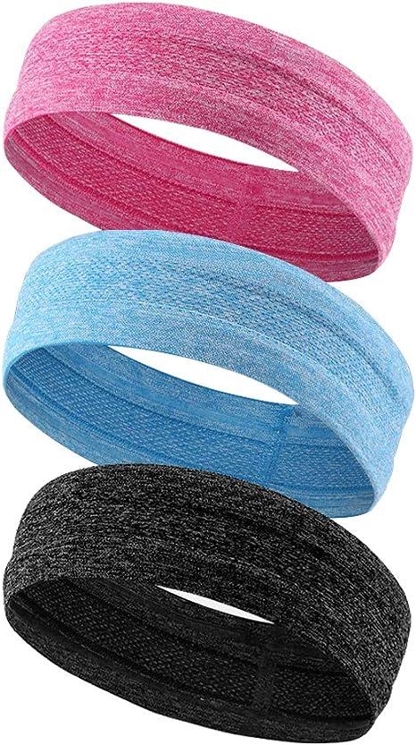 limeo Cintas para el sudor de deporte cinta de cabeza Head cinta ...
