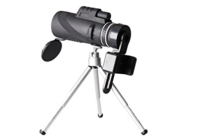 Amazon.com : ezkey telescope 10x42 monocular scope single hand focus