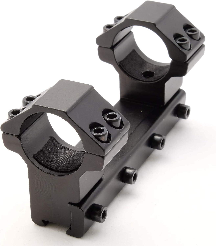 Atom Optics Einteilig Gewehr Zielfernrohrmontage 30mm Bekannte 9 5 11mm Taubenschwanz Schiene Anblick Ringe Sport Freizeit
