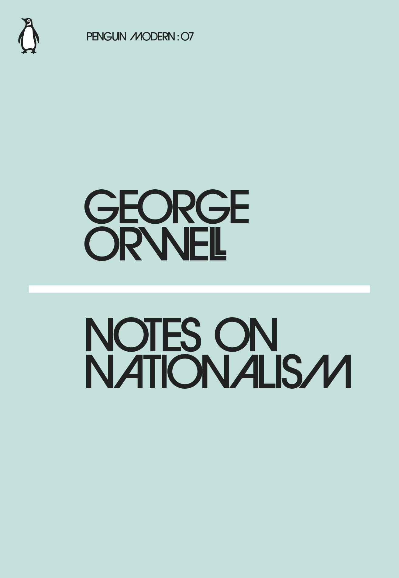 Notes on Nationalism (Penguin Modern): GEORGE ORWELL: 9780241339565 ...
