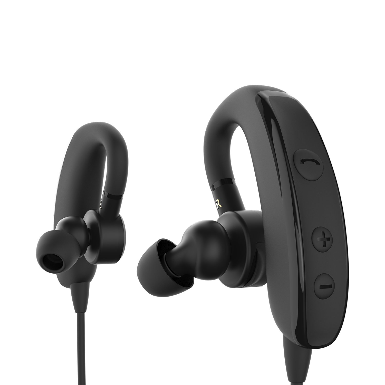 allimity auriculares inalámbricos Bluetooth estéreo cancelación de ruido Headset A Prueba de Sudor deportes Wireless auriculares con micrófono para gimnasio ...