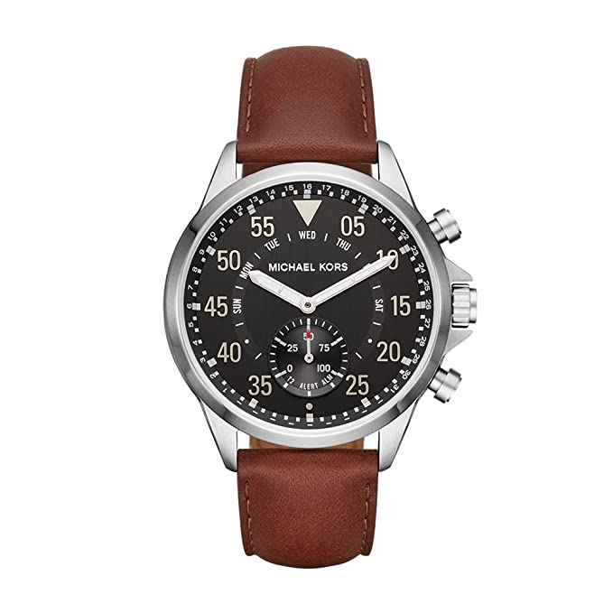 73f3ebedec0f Amazon.com  Michael Kors Access Hybrid Brown Gage Smartwatch MKT4001   Watches