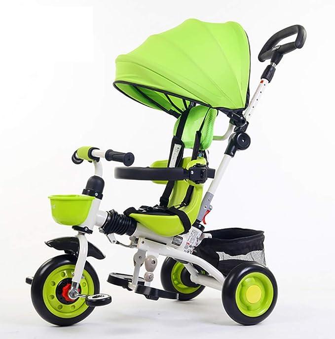 GHDE& 4 en 1 Trike - Triciclo para niños para Niños con ...