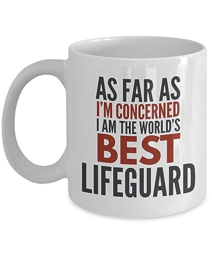 Amazoncom Lifeguard Mug As Far As Im Concerned I Am The