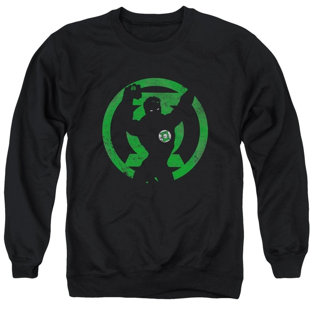 Gl Symbol Knockout Adult Crewneck Sweatshirt Dc