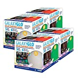 GAME 9017-04 GalaxyGlo Solar-Powered Waterproof Color Changing Globe with Remote (4 Pack), 9