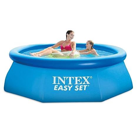 6240625222fce Amazon.com  Intex 8ft X 30in Easy Set Pool Set with Filter Pump  Garden    Outdoor