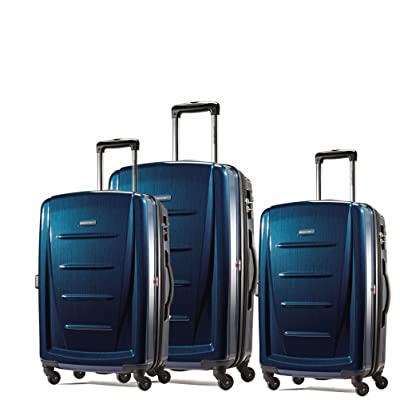 Samsonite Winfield 2 Fashion 3 Piece Spinner Nesting Set (3 pc Set Dark Blue)