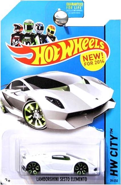 Hot Wheels Lamborghini Sesto Elemento HW City Green