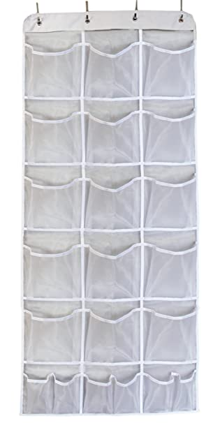 Misslo Mesh Waterproof Hanging Over The Door Organizer For Accessories  Storage (15 Extra Large And
