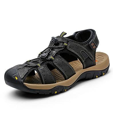 Mens Outdoor Waterproof Adjustable Sport Sandals