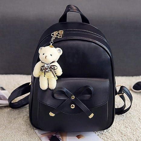 5a8586539e72 Amazon.com: Meiliwanju Women Bags, 4PCs Backpack Handbag Shoulder ...