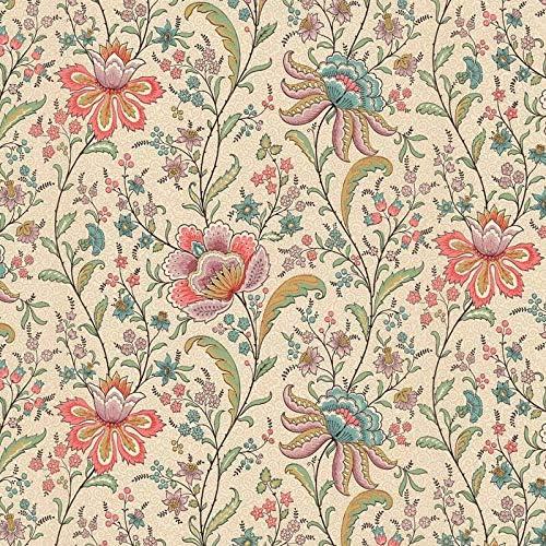 dollhouse 1 12 scale wallpaper vintage floral fantasy by bradbury and bradbury