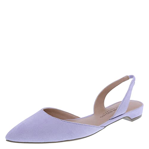 3fe9ea6377f Christian Siriano for Payless Women s Lilac Suede Women s Betty 2-Pc. Slingback  9.5 Regular