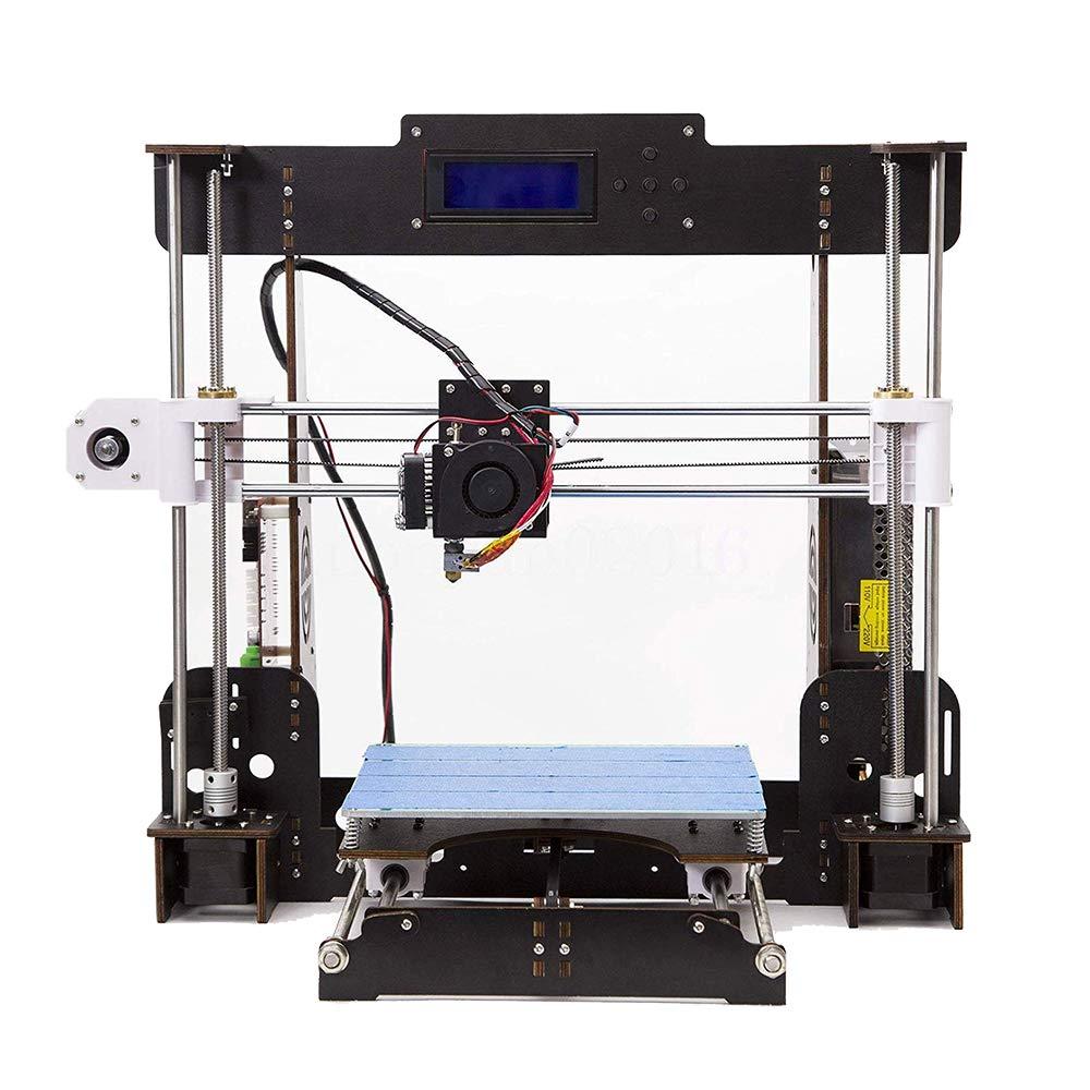Impresora 3D, DIY A8-W5 Pro Aviación Madera Pantalla LCD de alta ...