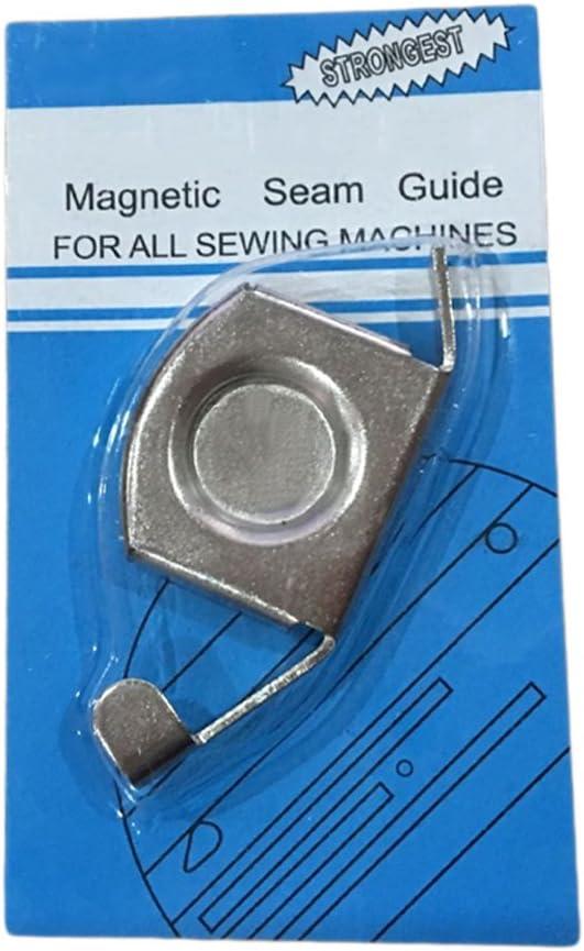 joyliveCY Magnético guía de costura de punto de bordes para máquinas de coser