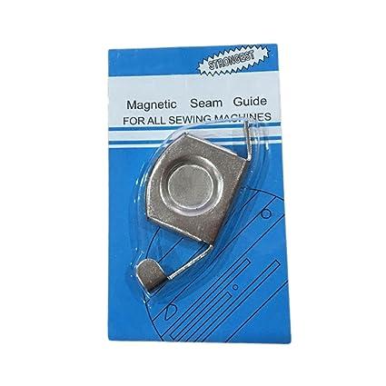 Basico Guía magnética de la Costura del Metal Accesorios industriales de la máquina de Coser del