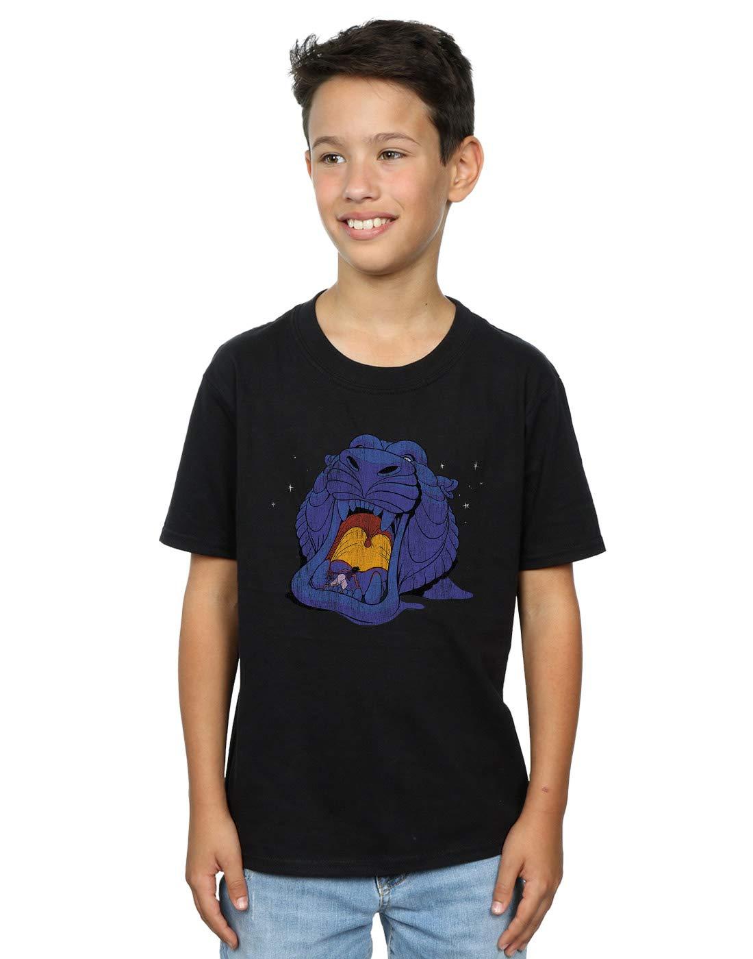 Disney Aladdin Cave Of Wonders Distressed Tshirt