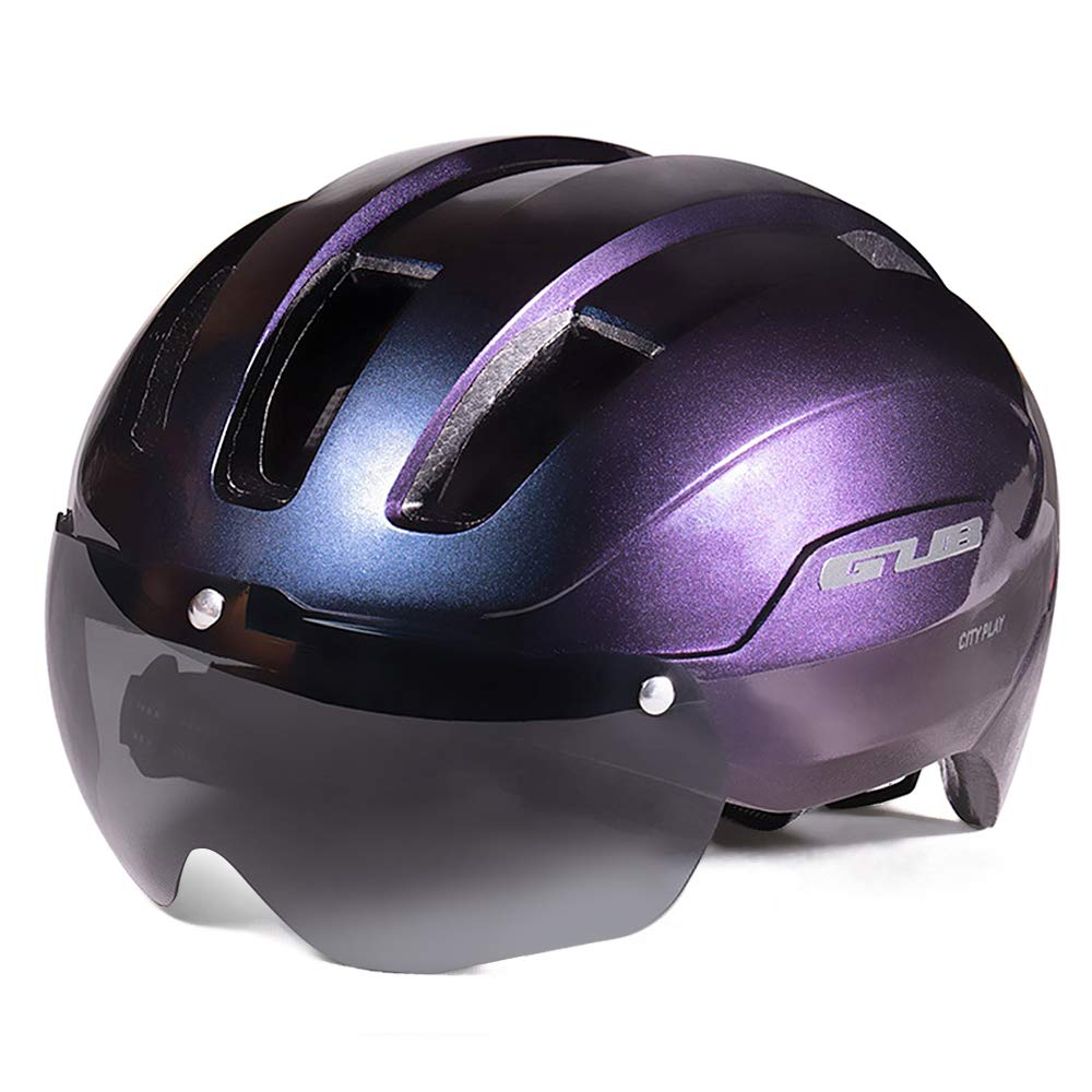 Bicycle Helmets Integrally Molded Cycling Helmets with Detachable  Magnetic K8V4