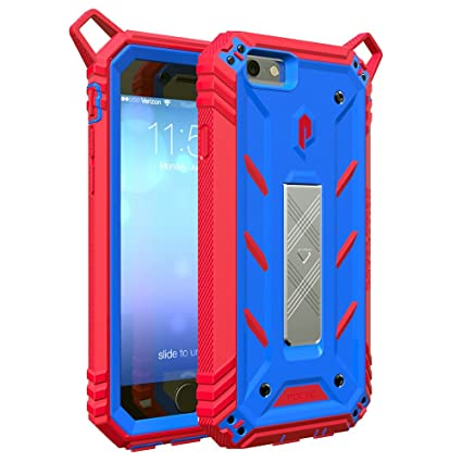 hot sale online 6f2ef c4491 iPhone 6S Case, POETIC Revolution [Premium Rugged] Protective Case with  [Landscape Stand Feature] [Shock Absorption & Dust Resistant] for Apple  iPhone ...
