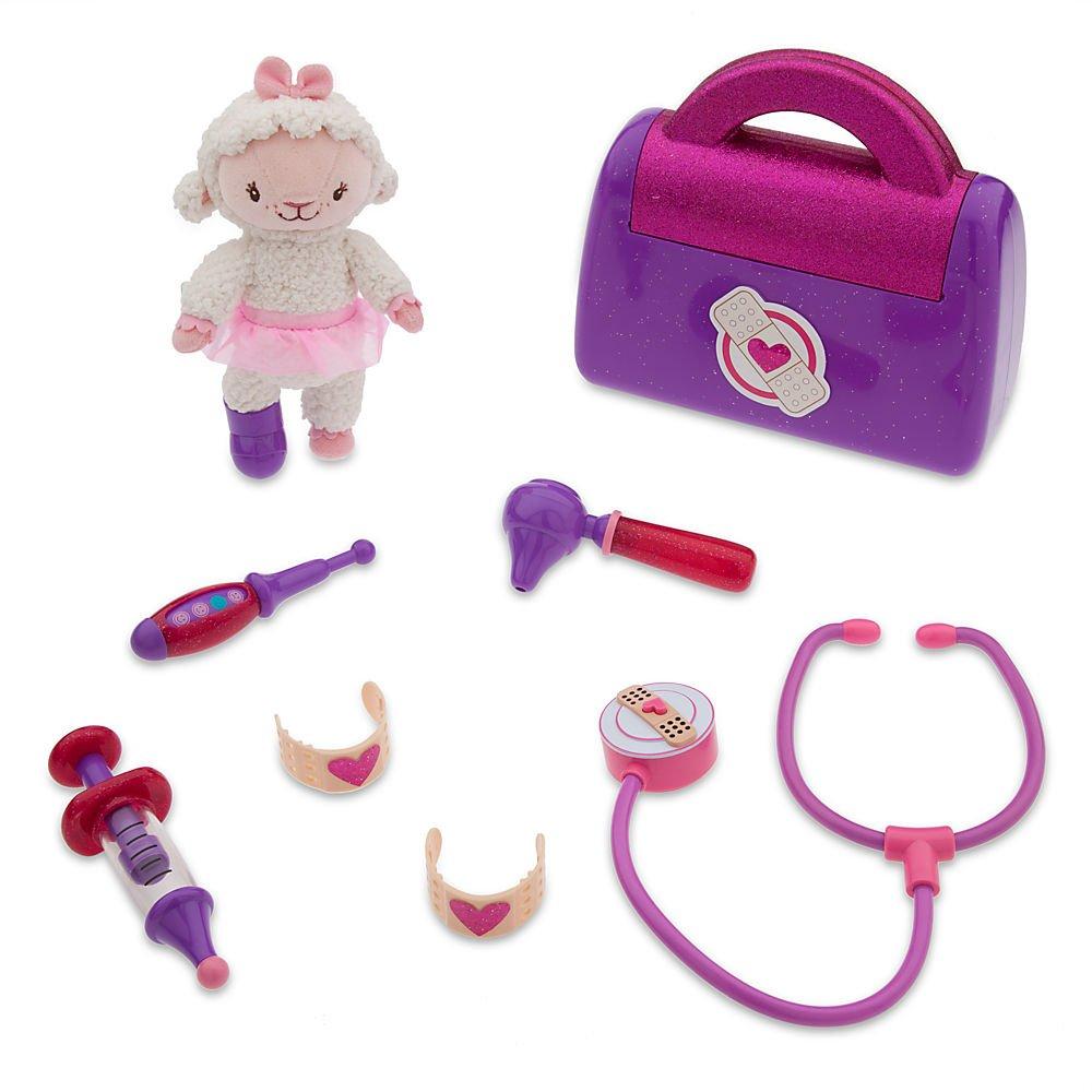 amazon com doc mcstuffins 9 piece doctor bag set includes
