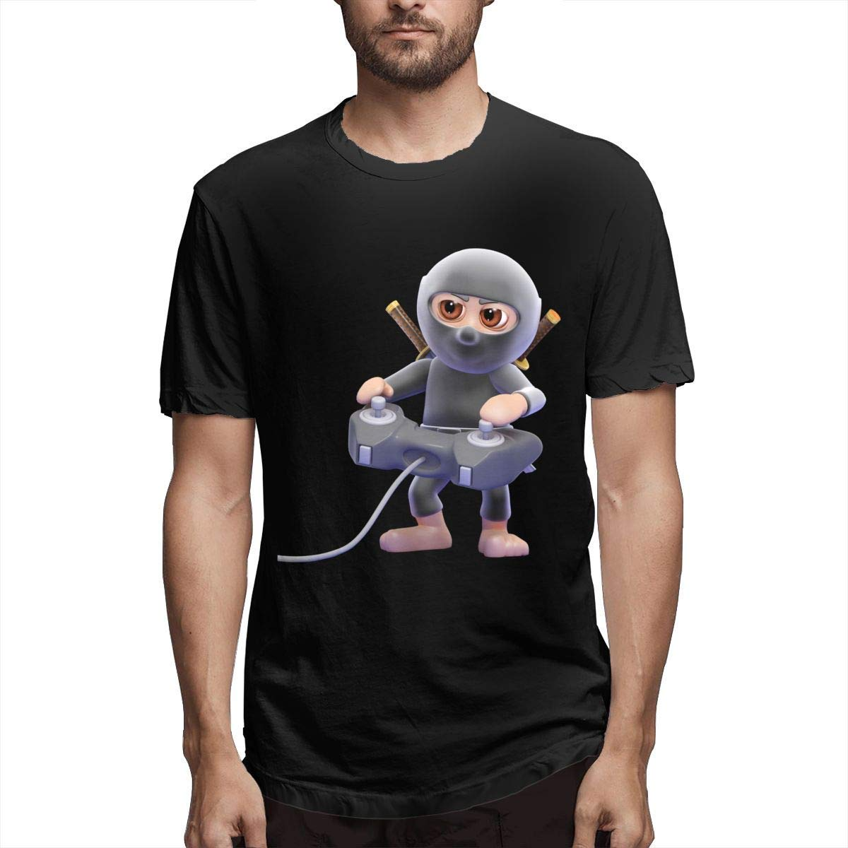 Hombre Impreso Transpirable 3D Un Ninja Jugando un ...