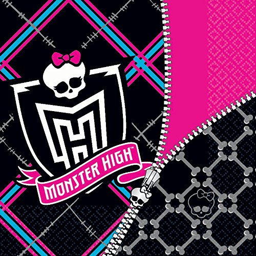 Monster High Luncheon Napkins Paper Napkins (16 per package)