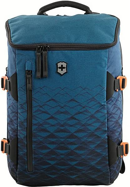 "Victorinox VX Touring 15"" Laptop Backpack with Tablet Pocket, Dark Teal/Black, 18.1-inch"