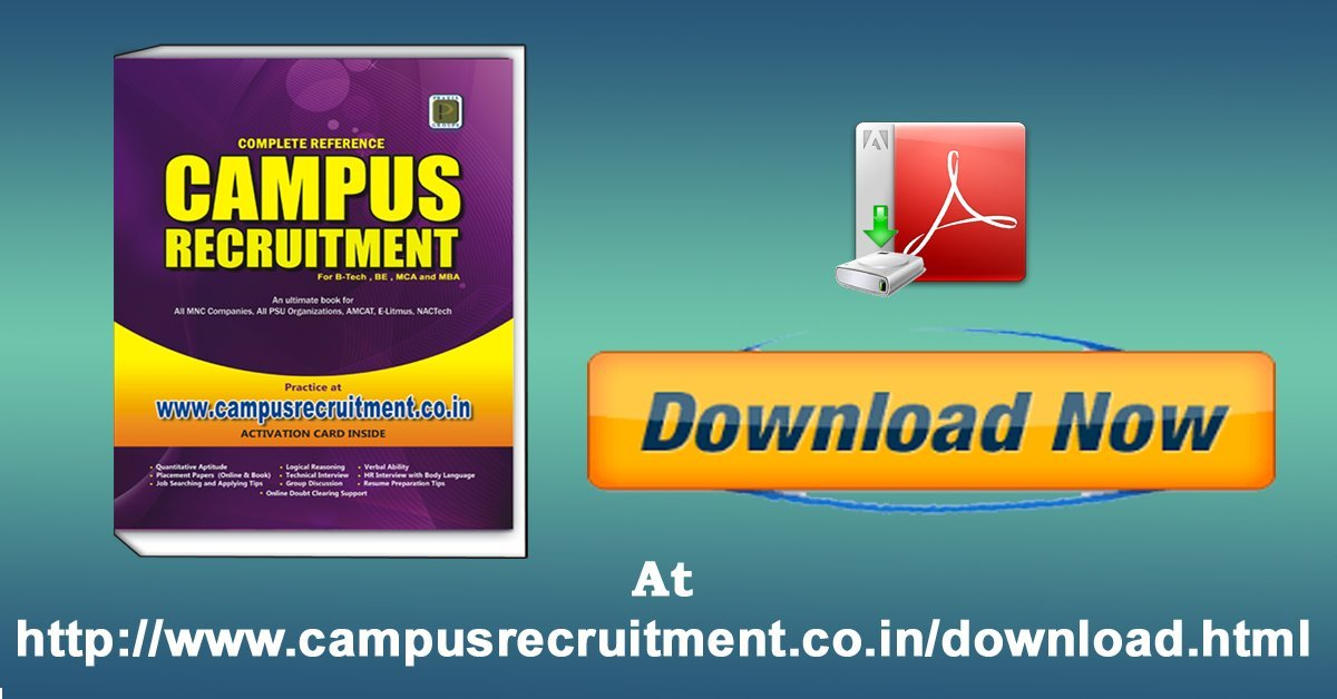 Buy Campus Recruitment Complete Reference Book Online at Low Prices