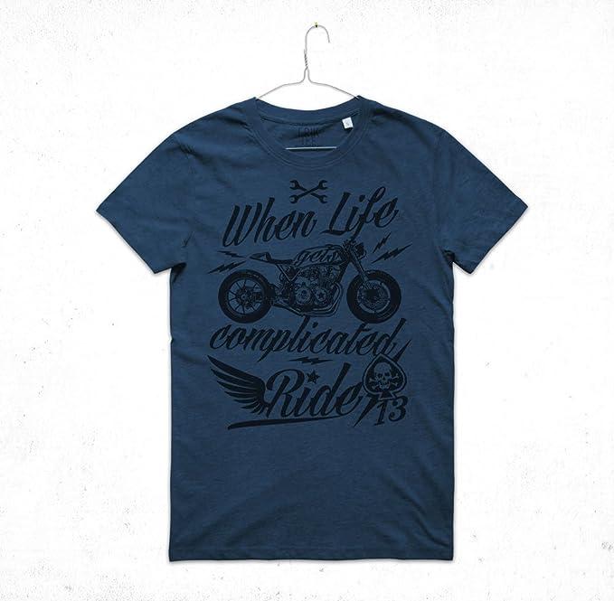 Riders Maglia Insidetshirt Vintage Racer Racing Maglietta Cafe Uomo OuwlPZXkiT