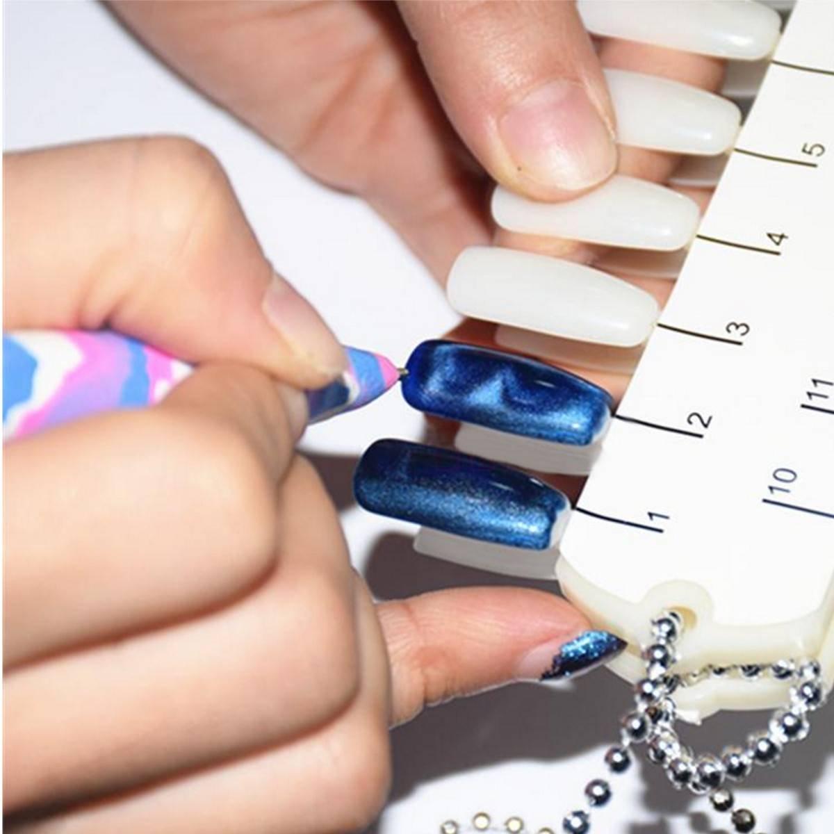 Amazon.com : DANCINGNAIL New Nail Art Cats Eyes Magnet Pen DIY Magic ...